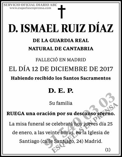 Ismael Ruiz Díaz